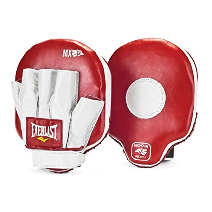 Image of Boxing Everlast 421100 MX Mitts Red/White One Size