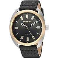 Diesel DZ1835 Fastbak Black Leather Japanese Quartz Fashion Men's Watch