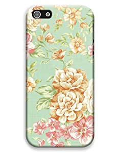 Vintage Floral Pattern Case for your iPhone 5C