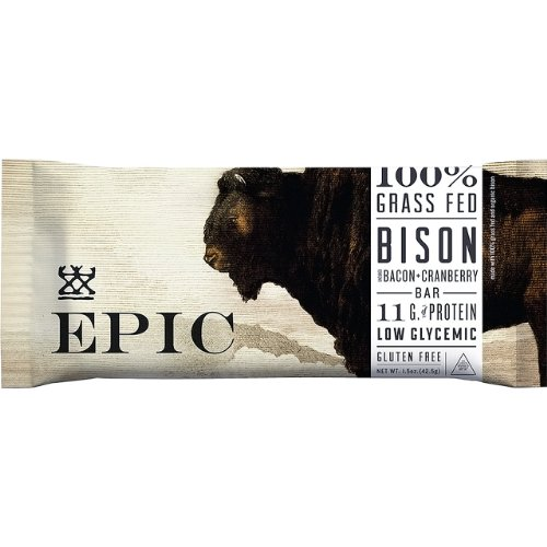 Bison Bacon Cranberry Bar (3-pack)