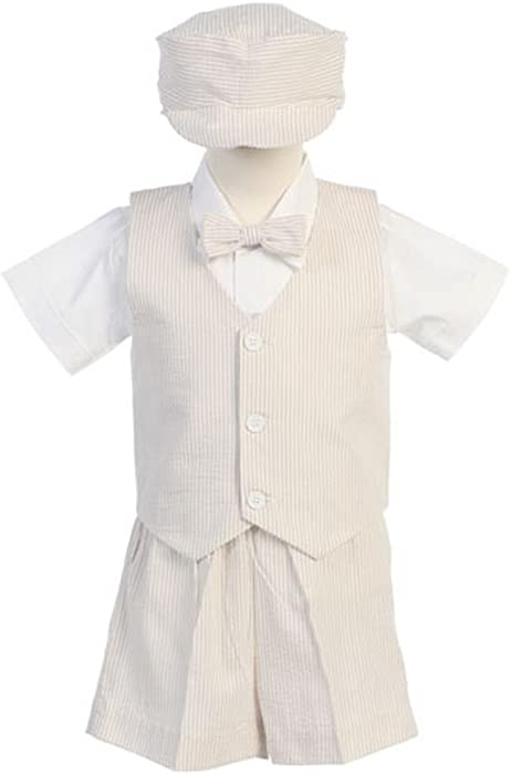 880dcd59a4e8 Baby Size 18-24 Month Khaki Vest Easter Ring Bearer Formal Suit. Back.  Double-tap to zoom