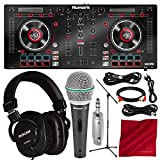 Best DJ Controllers With Serato Intros - Numark Mixtrack Platinum DJ Controller with Jog Wheel Review