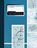 """Graph Paper Notebook: Squared Graphing Paper * Blank Quad Ruled * Large (8.5"""" x 11"""") * Softback (Composition Books)"""