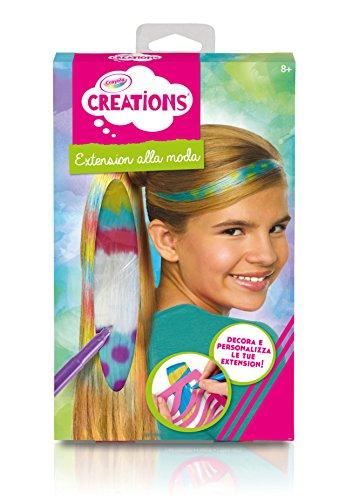 Crayola Color Clip Hair Extensions