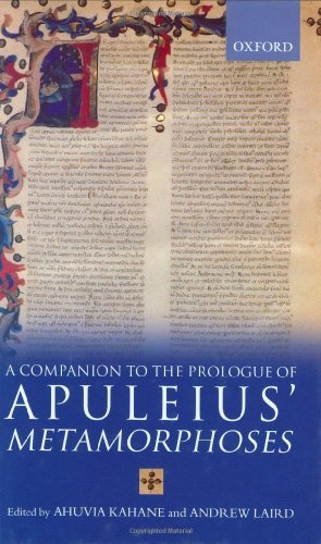 Download A Companion to the Prologue to Apuleius' Metamorphoses Pdf