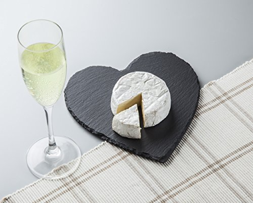 Slate Cheese Trays/boards (HEART) - Slate Heart