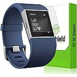 Fitbit Surge Screen Protector, IQ Shield® LiQuidSkin (6-Pack) Full Coverage Screen Protector for Fitbit Surge HD Clear Anti-Bubble Film - with Lifetime Warranty