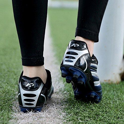 Soccer Dogeek Juniors De Football Adultes Chaussures Hg De Bleu Chaussures Football w8Exg