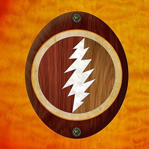 Inlay Sticker Decal For Guitar Grateful Dead Jerry Garcias   Lightning Bolt