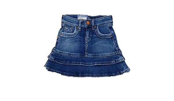 ab495ba89 Pepe Jeans ALINA RUFFLED - FALDA VAQUERA CON DETALLE DE VOLANTES NIÑA (3  AÑOS): Amazon.es: Ropa y accesorios