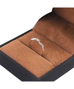 Godagoda Bague Femme Mariage Couleur Argent Original Bijoux Fantaisie Feuille de Saule Décoration Numéro 7