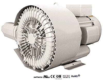 Pacific Regenerative Blower PB-402/1 (HRB-402/1), Ring, Side channel, Vacuum Pressure Blowers