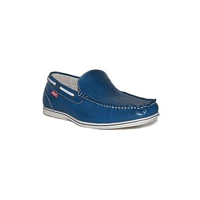 PEZATTI - PEZATTI Mocasin.17D Zapatos Mocasines Hombre Azul Modernos Casuales Baratos: Amazon.es: Zapatos y complementos