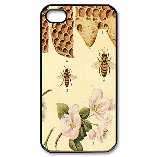 Novel Style Bible Verse Printed Case Cover for iphone 4 4s 4G - Hard Back Designer Case Protector Black 20723
