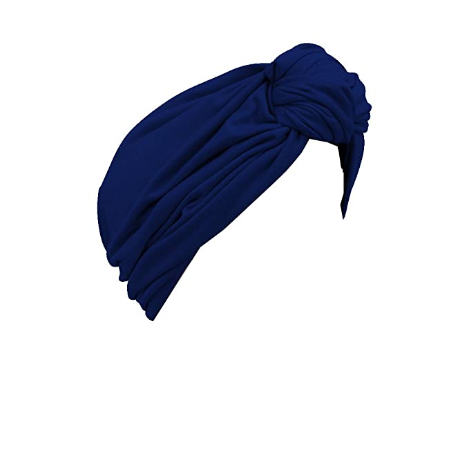1920s Flapper Headbands Solid Turban with Twist/Knot Front (Landana Headscarves) $23.99 AT vintagedancer.com
