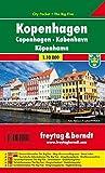 Freytag Berndt Stadtpläne, Kopenhagen, City Pocket + The Big Five - Maßstab 1:10.000