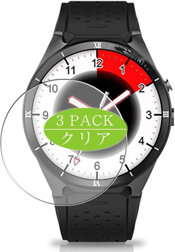 VacFun 3 Piezas HD Claro Protector de Pantalla para Smartwatch Smart Watch KW88 Pro, Screen Protector Sin Burbujas Película Protectora (Not Cristal Templado)
