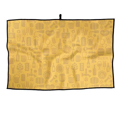 - Eplus Waffle Microfiber Golf Towel Light Weight & Quick Drying Bear Cartoon Icon Cart Towel 15