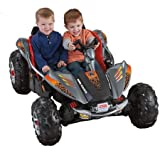 Fisher-Price Power Wheels Dune Racer 12-Volt Battery-Powered Ride-on Red