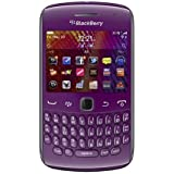 Blackberry Curve 9360 Unlocked Quad-Band 3G GSM Phone with 5MP Camera, QWERTY Keyboard, GPS and Wi-Fi - US Warranty - Purple