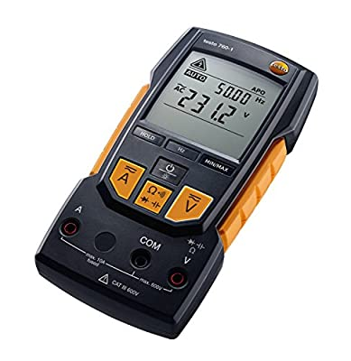 "Testo 0590 7601 760-1 Digital Multimeter, 2"" Height, 3"" Width, 7"" Length"