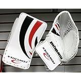 New Powertek Barikad goalie blocker and catcher set Jr. ice hockey goal glove