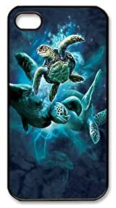 For Case Iphone 6 4.7inch Cover, For Case Iphone 6 4.7inch Covers - Sea Turtle Collage PC For Case Iphone 6 4.7inch Cover and For Case Iphone 6 4.7inch Cover Black