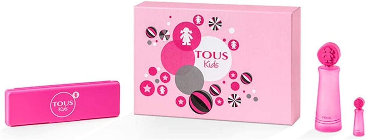 TOUS KIDS GIRL EDT 100 ML + MINIATURA 4 ML + ESTUCHE TOUS SET REGALO: Amazon.es: Belleza