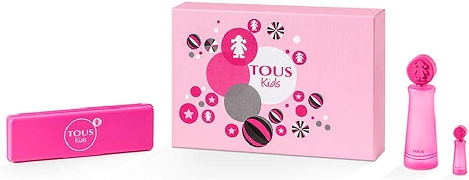 TOUS KIDS GIRL EDT 100 ML + MINIATURA 4 ML + ESTUCHE TOUS SET REGALO: Amazon.es: Belleza