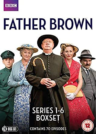 Father Brown Series 1 2 3 4 5 6 Bbc Official Uk Release Dvd