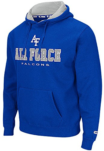 - Air Force Falcons Royal Zone 2 Embroidered Hoodie (Large)