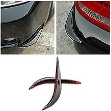 Femitu Universal Stick-on Car Rear Bumper Anti-rub Edge Lip Anticollision Protector Protection Guard
