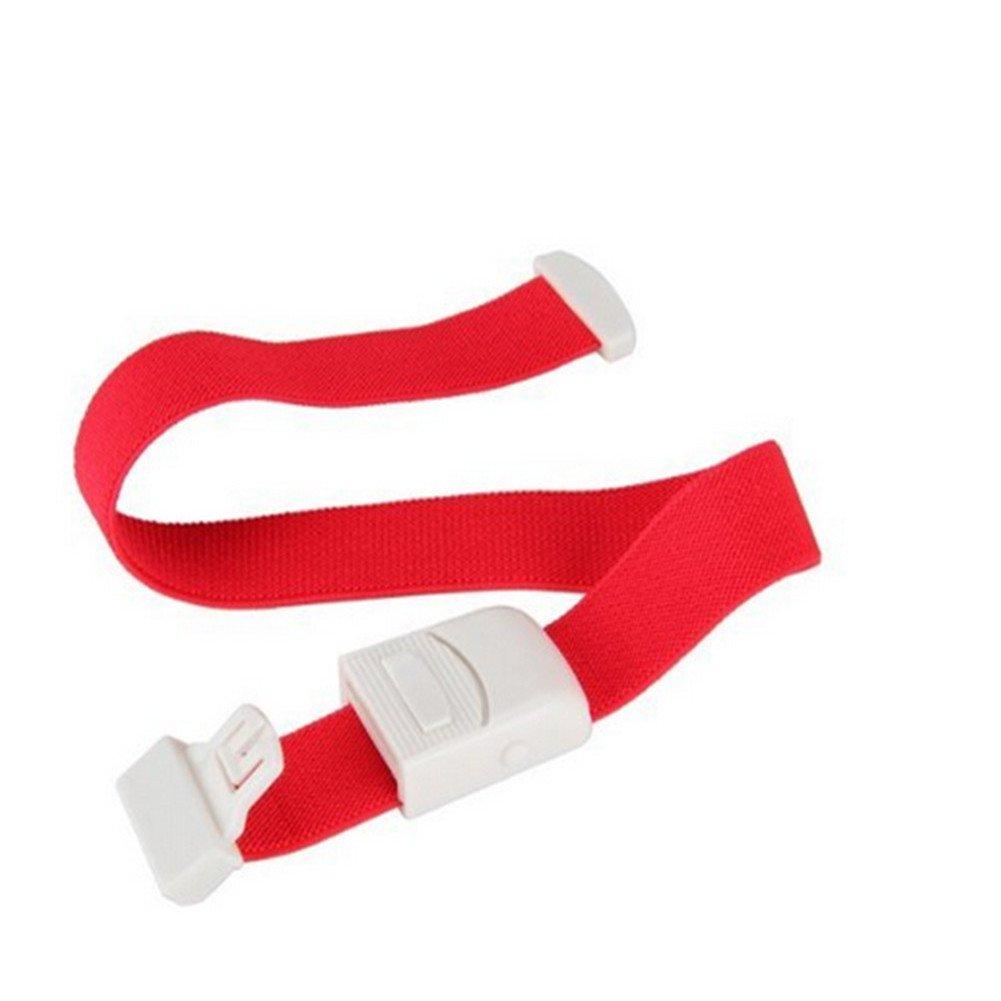 Landsell d'urgence Care Fournitures élastique Boucle Garrot, ABS, Green, 2.5 * 40cm