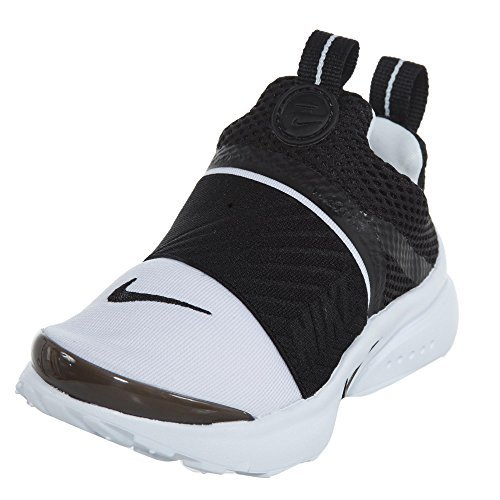 e6e6a488ad95a2 Galleon - Nike Presto Extreme Toddler s Running Shoes White Black  870019-100 (5 M US)