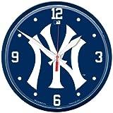 """MLB 2774312 New York Yankees Round Wall Clock, 12.75"""""""