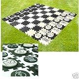 Ensemble d'échecs et d'ébauche de jardin imperméable géant