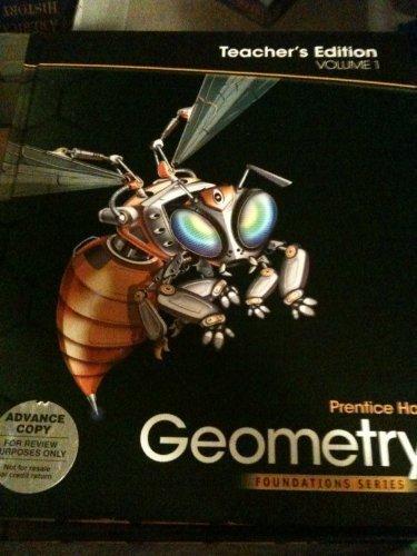 Geometry, Vol. 1, Teacher's Edition, (Foundation Series)