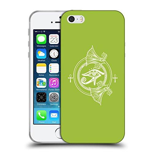 GoGoMobile Coque de Protection TPU Silicone Case pour // Q09880603 Religion 28 Android vert // Apple iPhone 5 5S 5G SE