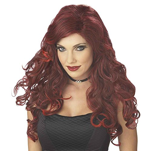 [Glamour Witch Wig Red/Black] (Glamour Witch)