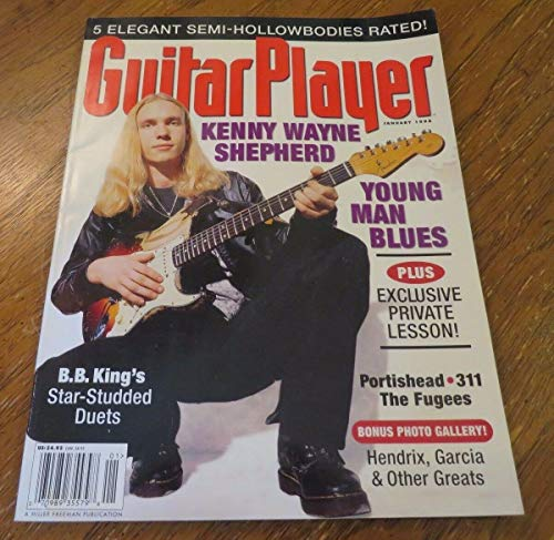 January 1998 GUITAR PLAYER Magazine Issue 337 Vol 32 No 1