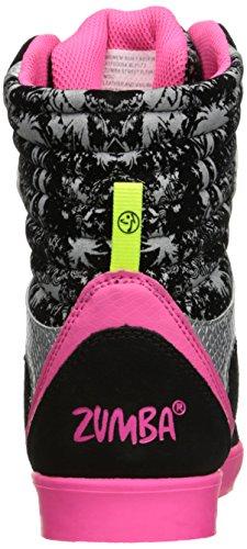 Zumba Donne Calzature Atletiche Strada Elevare Il Supporto Alla Caviglia Alta Allenamento Di Ballo Di Modo Che Cammina Scarpa Nera / Rosa