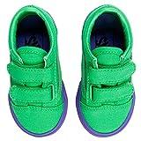 Vans Old Skool V Cosplay Green/Purple Toddler Shoes