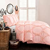 Lush Decor Lush Décor Avon 2 Piece Comforter Set, Twin, Pink