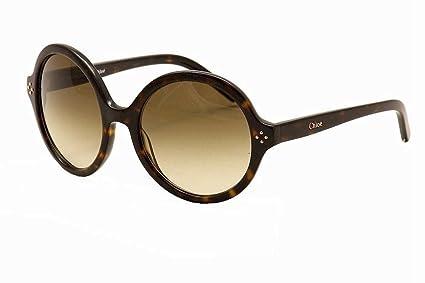 599d781649ae9 Amazon.com  Chloe Women s 629S 629 S 219 Tortoise Fashion Sunglasses ...