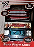 WWE Raw Wrestling Ring Alarm Clock Bank with Light Up Mat