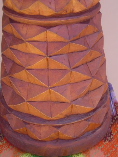 Unique 24'' X 14'' Djembe Deep Carved Hand Drum Bongo - Model # 60m2
