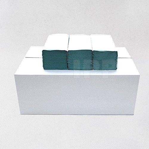 EUR 0,003//Stück Papierhandtücher Falthandtücher 1-lagig grünZZ-Falz 5000 Stück