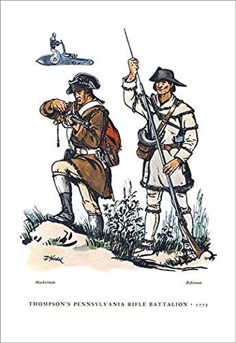(Buyenlarge Thompson's Pennsylvania Rifle Battalion, 1775 - Gallery Wrapped 28