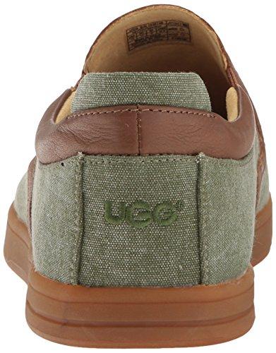 Ugg Hommes Mateo Toile De Mode Sneaker Brûlé Olive