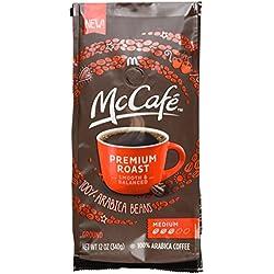 MCCAFE Coffee, Premium Roast, Medium, Ground, 12 Ounce